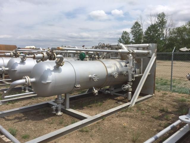 Badger Equipment - Stettler Oil & Gas | 600 PSI Vertical FULL SOUR Separator Package
