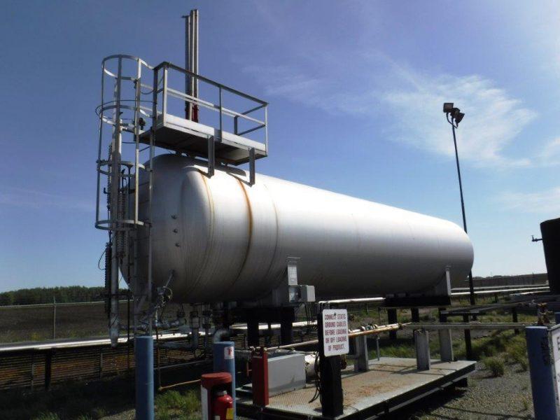 Western Rock Bit 20,600 gallon LPG/NGL storage bullet